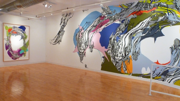 "Installation view of ""Sophia Ainslie: In Person""."