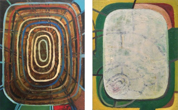 """Jennifer Moses, oil on panel, 12 x 9"""", 2013"""