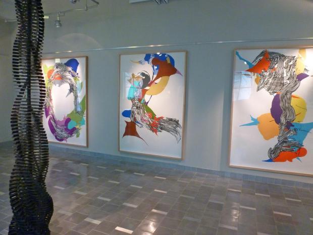 Sophia Ainslie's work at Northeastern University.
