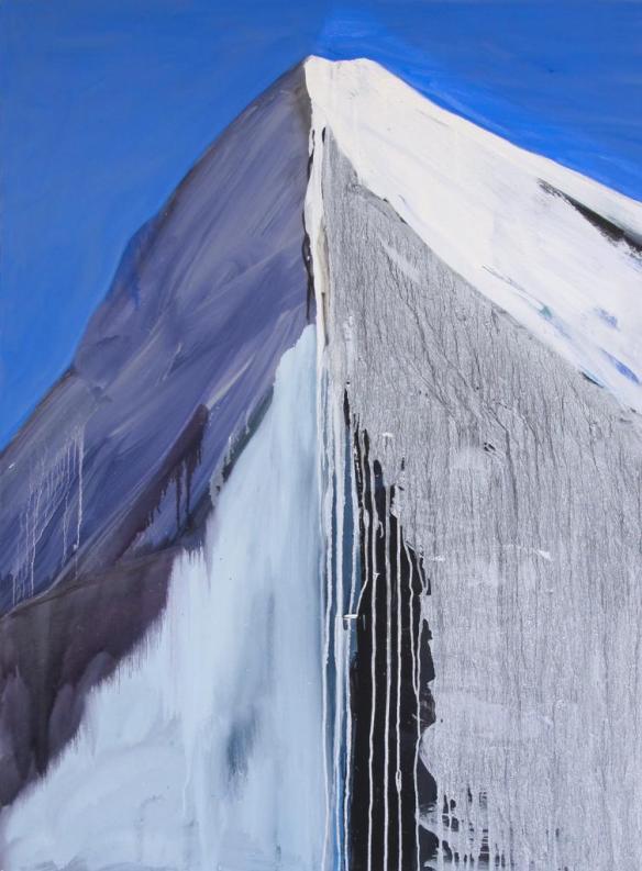 "Purple Majesty, oil on canvas, 48 x 36"""
