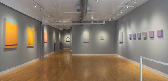 Installation view, Ju Ju Blues, Kingston Gallery, June 2015