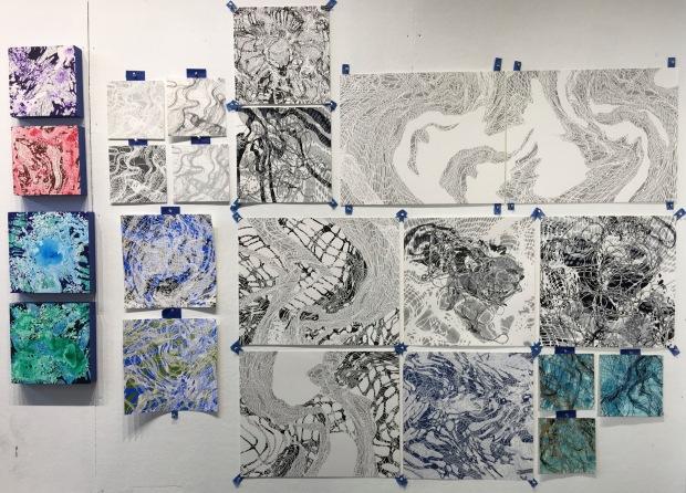 schlosberg-studio-wall-studies